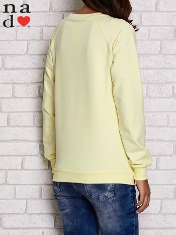 Żółta bluza z motywem sowy i łapacza snów                                  zdj.                                  4