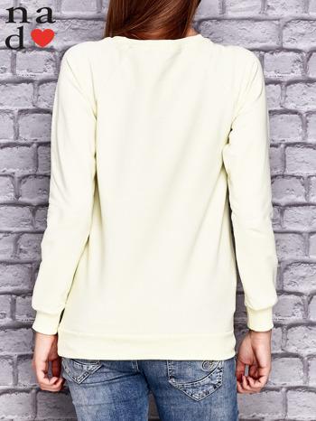 Żółta bluza z naszywkami                                  zdj.                                  2
