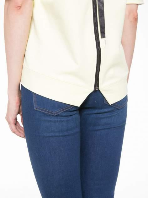 Żółta bluza z suwakiem z tyłu                                  zdj.                                  11