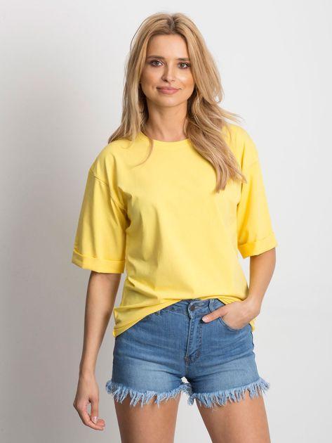 Żółta bluzka Celebration                              zdj.                              1