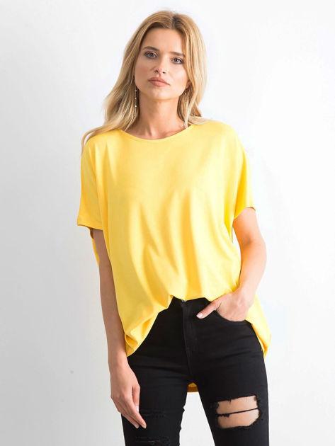 Żółta bluzka Oversize                              zdj.                              1