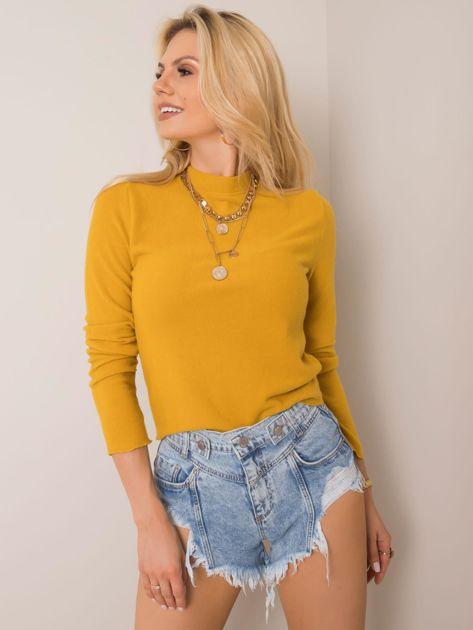 Żółta bluzka Stephanie FRESH MADE