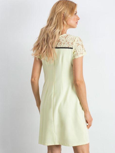 Żółta sukienka Irresistible                               zdj.                              2