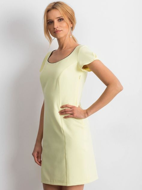Żółta sukienka Majesty                              zdj.                              3
