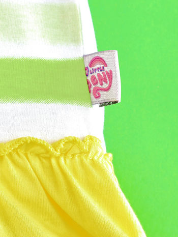 Żółta tunika dla dziewczynki MY LITTLE PONY                                  zdj.                                  5