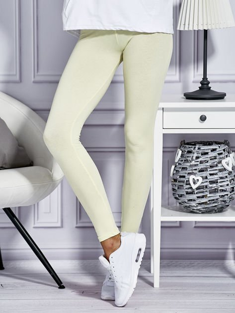 Żółte legginsy basic                                  zdj.                                  1