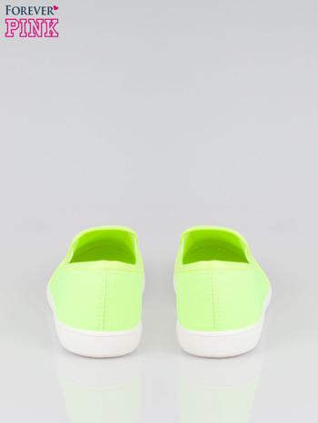 Żółte lekkie buty sliponki                                  zdj.                                  3