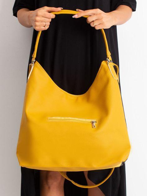 Żółto-czarna miejska torba                              zdj.                              5