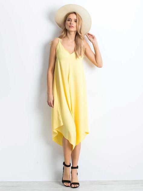 Żółty kombinezon Wallow