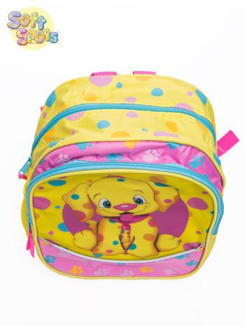 Żółty plecak na wycieczkę DISNEY Soft Spots                                  zdj.                                  6