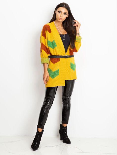 Żółty sweter Fabulous                              zdj.                              4