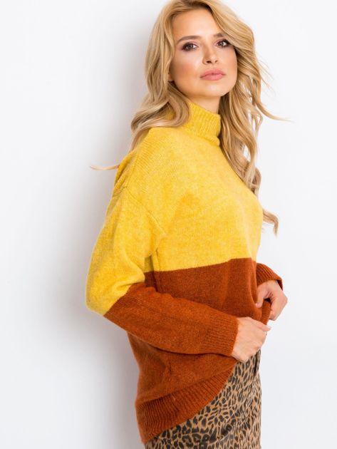 Żółty sweter Taylor                              zdj.                              3