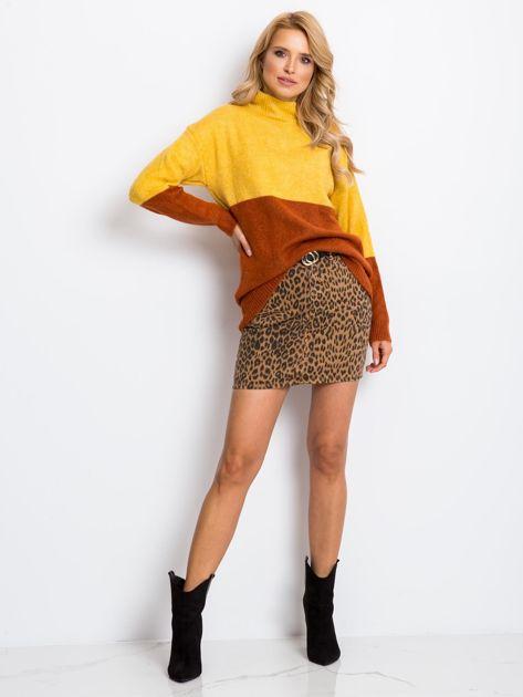Żółty sweter Taylor                              zdj.                              4