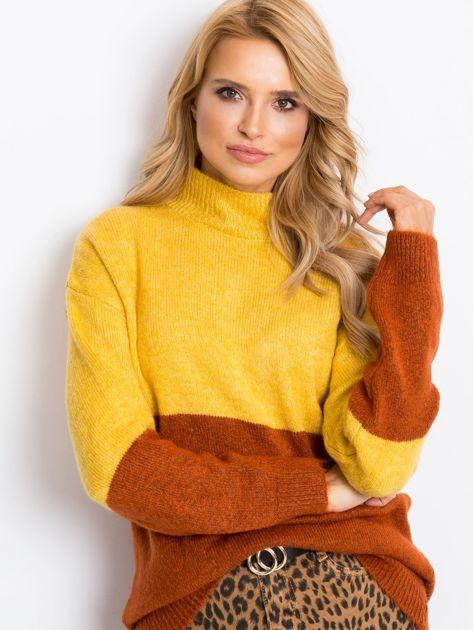 Żółty sweter Taylor                              zdj.                              1