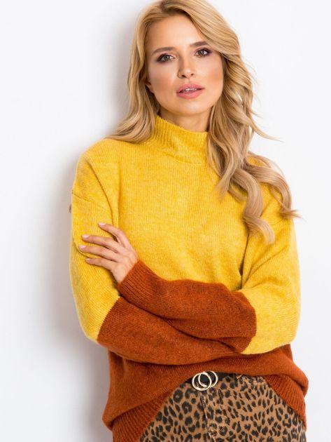 Żółty sweter Taylor                              zdj.                              7