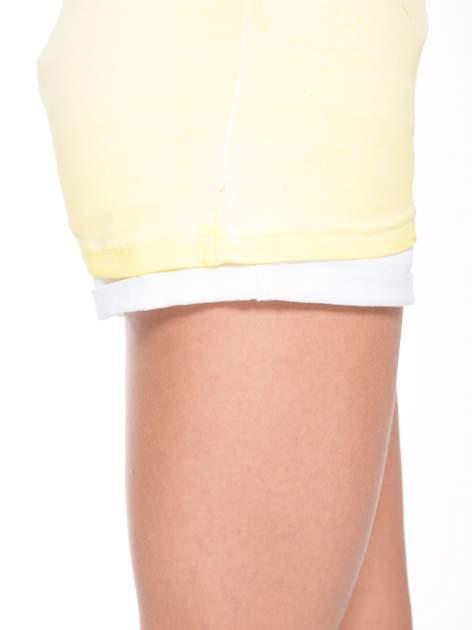 Żółty t-shirt z nadrukiem GUNS N' ROSES                                  zdj.                                  8