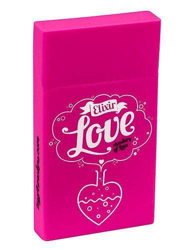 toys4smokers SLIM/ Etui silikonowe na papierosy- Love elixir                              zdj.                              1