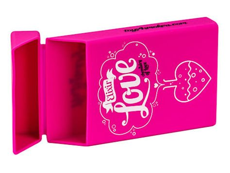 toys4smokers SLIM/ Etui silikonowe na papierosy- Love elixir                              zdj.                              4