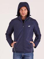 4F Granatowa kurtka narciarska dla mężczyzny                                  zdj.                                  5