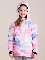 4F Kolorowa kurtka narciarska dla dziewczynki                                  zdj.                                  2