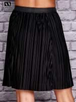 ARMANI Czarna plisowana spódnica two tone                                  zdj.                                  3
