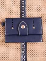 Beżowa dziurkowana torba na ramię z łańcuszkiem                                                                          zdj.                                                                         5