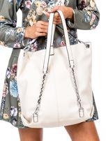Beżowa torba-plecak z odpinanymi szelkami                                  zdj.                                  4