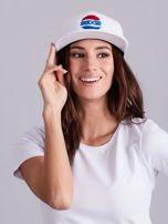 Biała czapka z daszkiem                                  zdj.                                  5