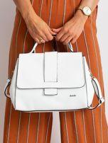 Biała damska torebka skórzana                                  zdj.                                  1