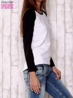 Biała gładka bluza                                                                          zdj.                                                                         3