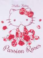 Biała piżama dla dziewczynki z różanymi motywami HELLO KITTY                                                                          zdj.                                                                         6
