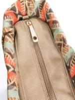 Biała torba gumowa z motywem azteckim                                  zdj.                                  6