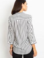 Biało-czarna bluzka Sienna                                  zdj.                                  2