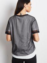 Biało-czarny t-shirt Citizen                                  zdj.                                  2