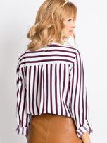 Biało-fioletowa bluzka Forever                                  zdj.                                  2