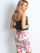 Biało-różowa spódnica Essential                                  zdj.                                  2