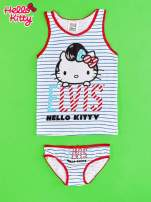 Biały komplet do spania dla dziewczynki ELVIS HELLO KITTY                                  zdj.                                  1