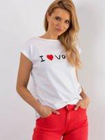 Biały t-shirt Parisien                                  zdj.                                  1