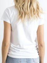 Biały t-shirt Peachy                                  zdj.                                  2