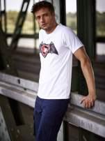 Biały t-shirt męski BATMAN V SUPERMAN                                  zdj.                                  1