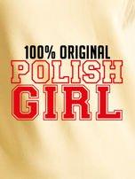 Bluza damska 100% ORIGINAL POLISH GIRL jasnożółta                                  zdj.                                  2