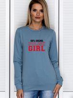 Bluza damska 100% ORIGINAL POLISH GIRL niebieska                                  zdj.                                  1