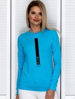 Bluza damska znak zodiaku BYK turkusowa                                  zdj.                                  1