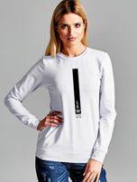 Bluza damska znak zodiaku LEW jasnoszara                                  zdj.                                  1