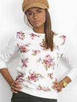 Bluza w różowe kwiaty                                  zdj.                                  3