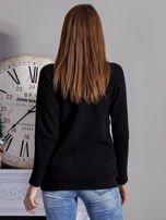 Bluza z fotoprintem czarna                                  zdj.                                  2