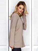 Bluzka damska oversize beżowa                                  zdj.                                  3