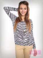 Bluzka z motywem zebry                                                                          zdj.                                                                         2