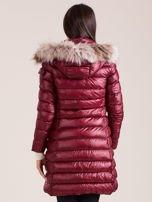 Bordowa damska kurtka zimowa                                  zdj.                                  2