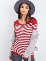 Bordowy sweter Oscar                                  zdj.                                  8